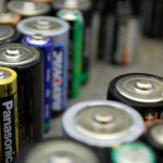Recycled batteries by the pound